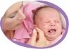 100 дней плача или младенческие колики
